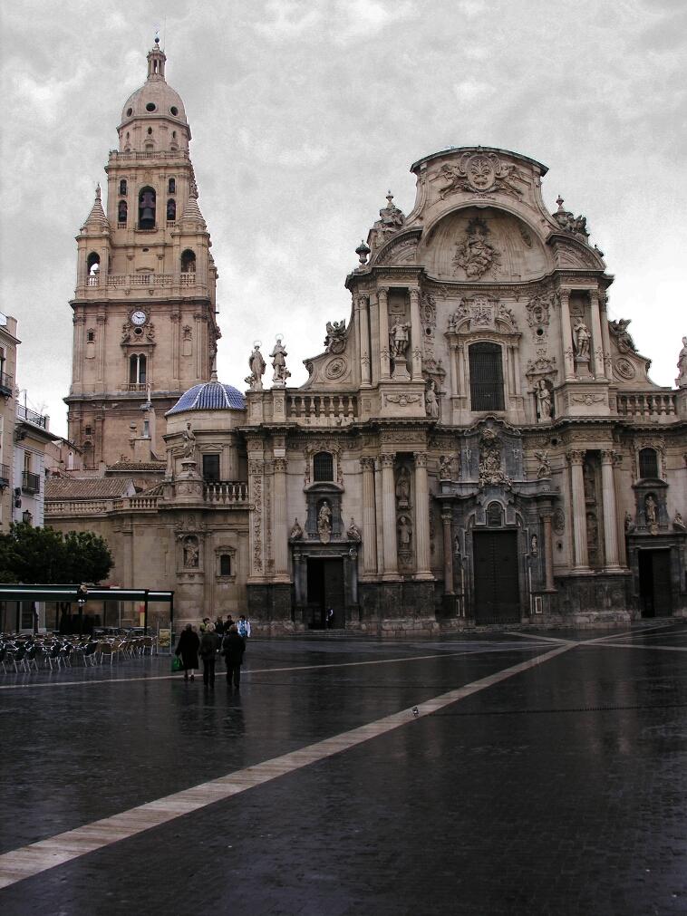 Murcia, Cathedral Facade 1
