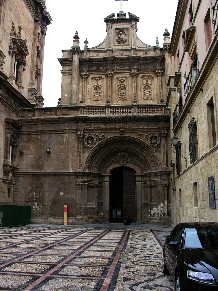 Murcia, Cathedral, North door