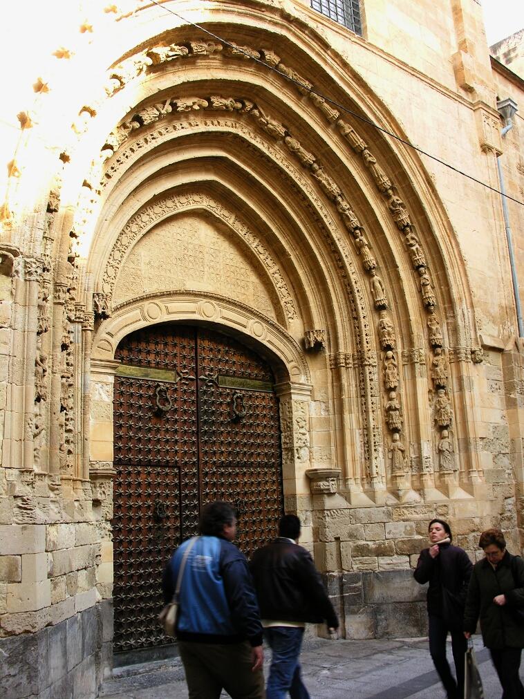 Orihuela, Cathedral S Door