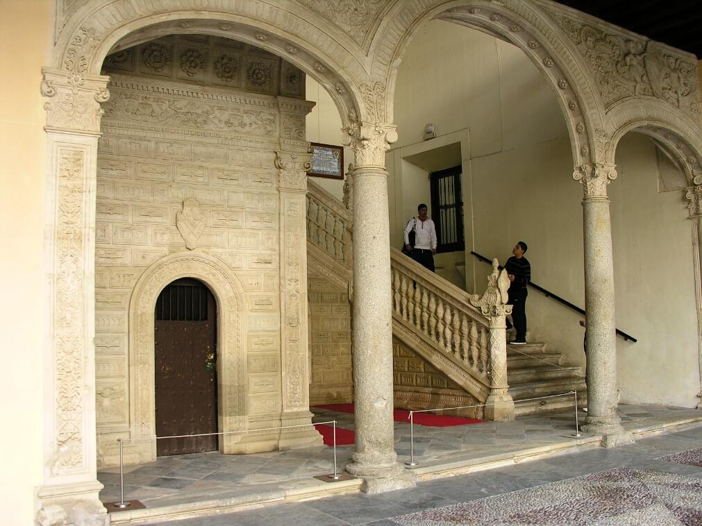 Hospital de Santa Cruz, Covarrubias Staircase