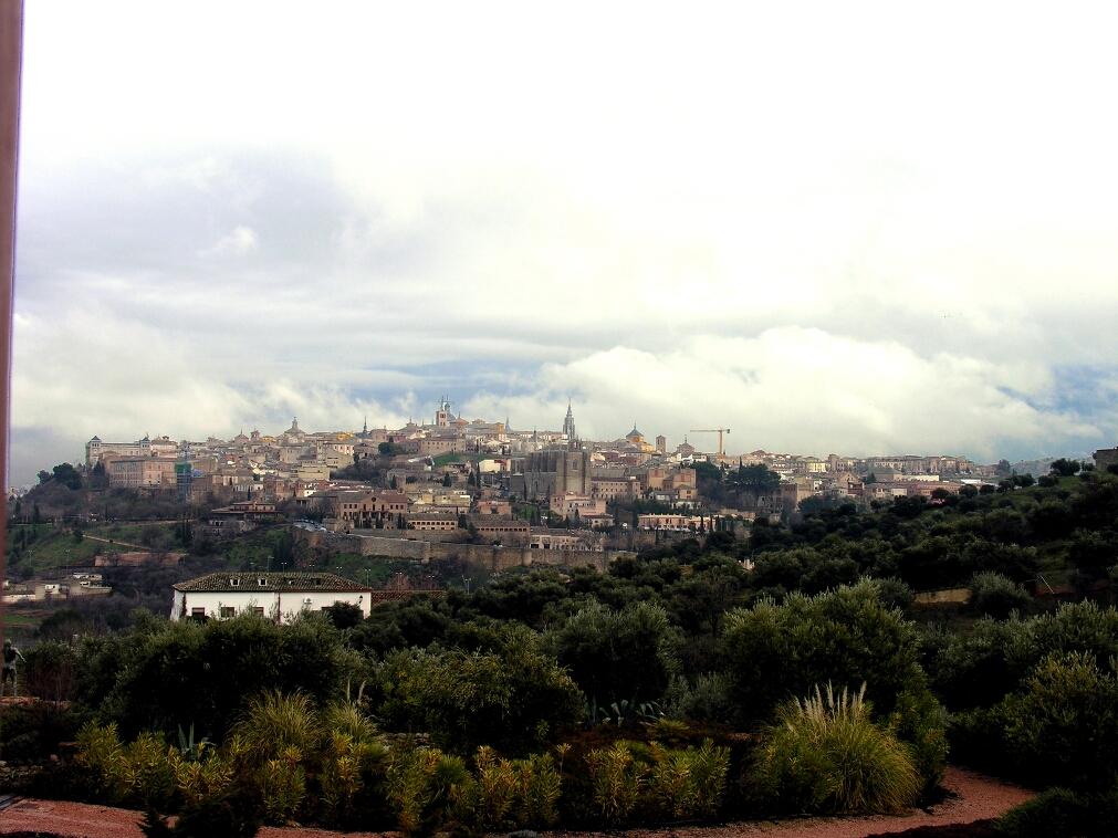 Toledo from hotel