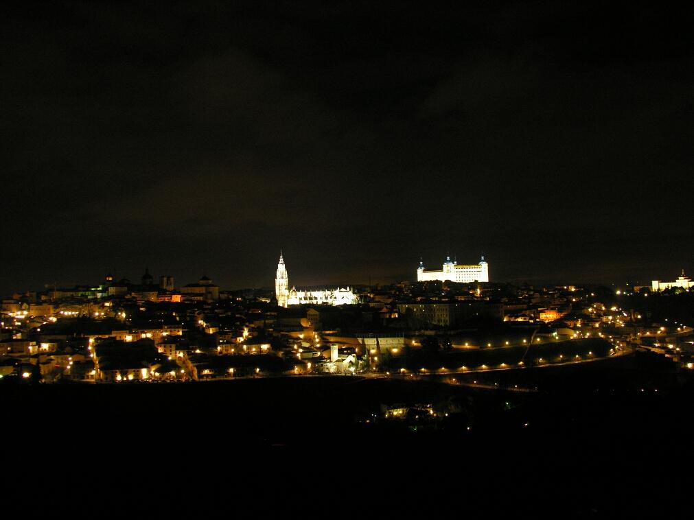 Toledo from Parador