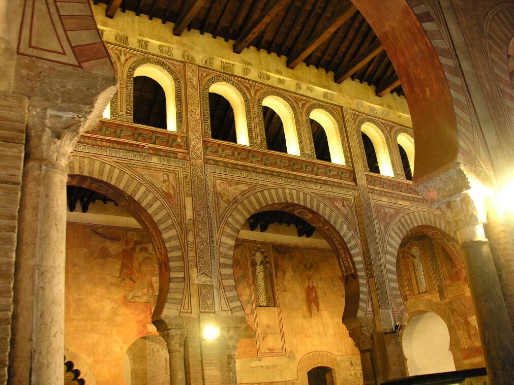 Toledo, San Roman, Horseshoe Arches